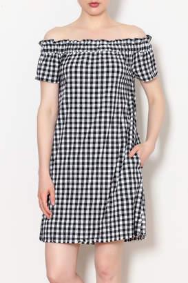 Velvet Heart Checkered Dress