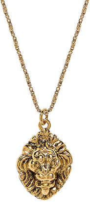Vanessa Mooney The Royals Lion Pendant Necklace