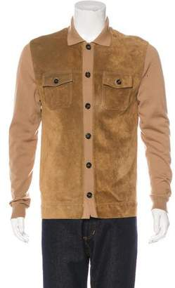 Gucci Wool & Suede Jacket
