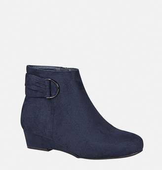 Avenue Amelia D-Ring Low Wedge Bootie