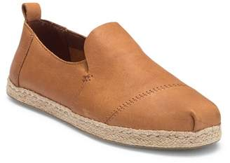 Toms Deconstructed Leather Alpargata