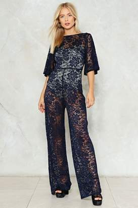 Nasty Gal Lace Against Time Jumpsuit