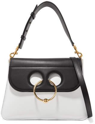 J.W.Anderson Pierce Medium Leather Shoulder Bag - White