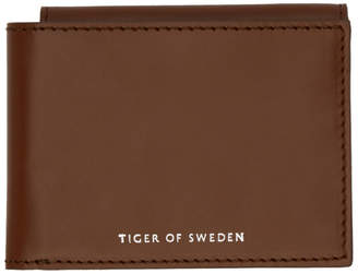 Tiger of Sweden Brown Wair Wallet