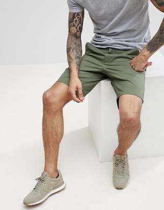 Farah Hawk Chino Twill Shorts in Green