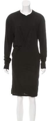 Isabel Marant Long Sleeve Draped Dress