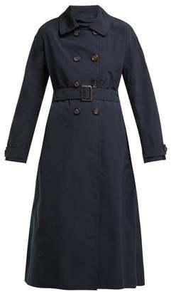 Max Mara S Cotton B Coat - Womens - Navy