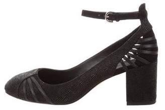 Rebecca Minkoff Round-Toe Ankle Strap Pumps
