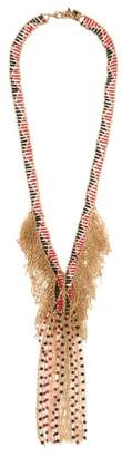 Rosantica By Michela Panero - Dakota Beaded Necklace - Womens - Red