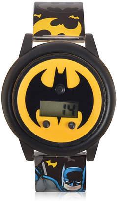 Batman Boys Black Strap Watch-Bat4668jc