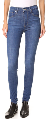 Levi's Mile High Super Skinny Jeans $98 thestylecure.com