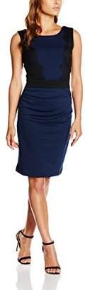 Kaffe Women's 10500664 Cocktail Sleeveless Dress - Blue