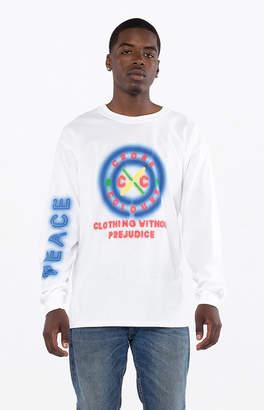 Cross Colours Neon Circle Logo Long Sleeve T-Shirt