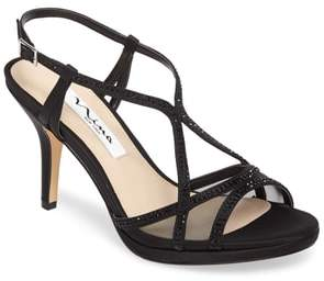 Nina Blossom Crystal Embellished Sandal
