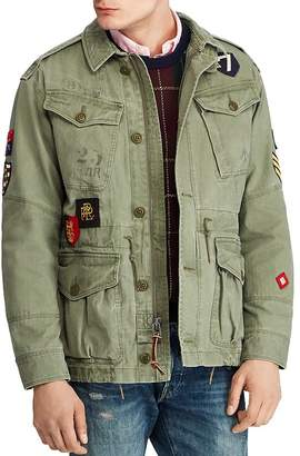Polo Ralph Lauren Twill Military Jacket