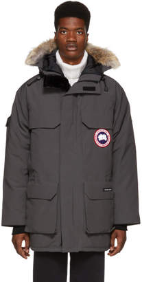 Canada Goose Grey Down Expedition Parka