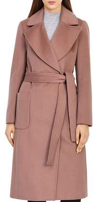 Reiss Faris Belted Wool Coat