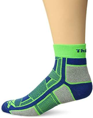 Thorlo Thorlos Unisex OAQU Outdoor Athlete Thin Padded Ankle Sock