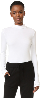 Splendid 1x1 Modal Ribbed Turtleneck $88 thestylecure.com