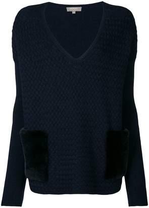N.Peal basketweave jumper