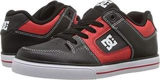 DC Boys' Pure Elastic SE Skate Shoe