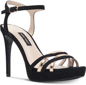 Nine West Quicklime Platform Dress Sandals Women's Shoes