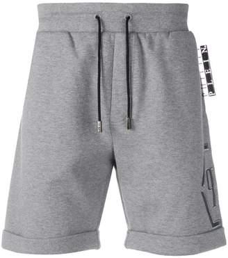 Philipp Plein Statement jogging shorts