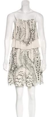 Madison Marcus Printed Mini Dress