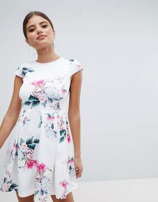 Jessica Wright Floral Skater Dress