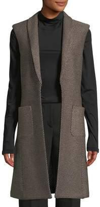 St. John Luxe Riso Knit Vest