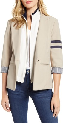 Bailey 44 Emerson Varsity Stripe Blazer with Dickey