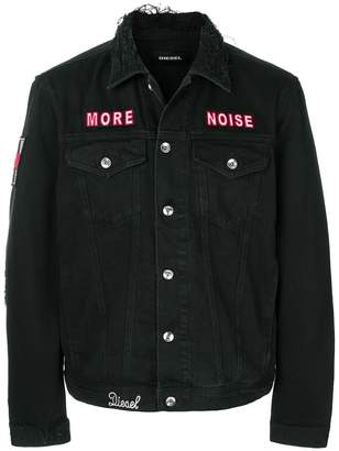 Diesel More Noise denim jacket