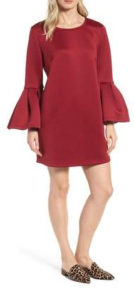 Pleione Bell Sleeve A-Line Dress
