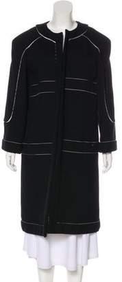 Chanel Ribbed Long Coat w/ Tags