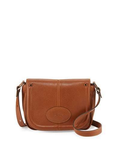 Longchamp Mystery Small Leather Crossbody Bag