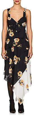 A.L.C. Women's Natalia Floral Silk Knotted Dress