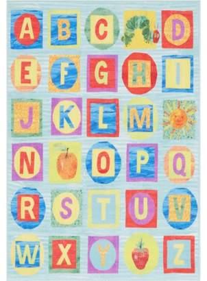 Eric Carle Home Dynamix Alphabet Blocks Area Rug