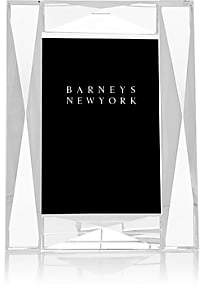 "Barneys New York Diamond-Pattern Crystal 4"" x 6"" Picture Frame"