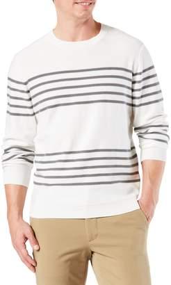 Dockers Stripe Crewneck Sweater