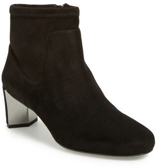 Women's Nine West 'Fall Up' Stretch Bootie $128.95 thestylecure.com