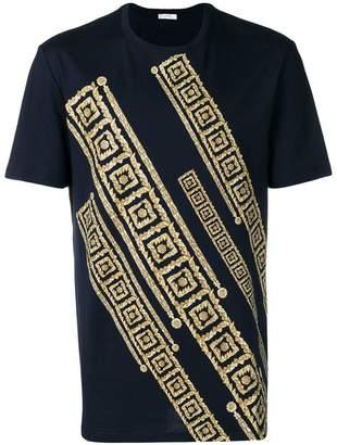 Versace Greek key pattern T-shirt