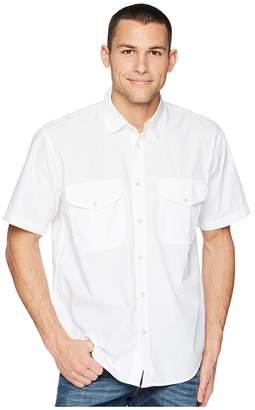 Filson Short Sleeve Feather Cloth Shirt Men's Short Sleeve Button Up