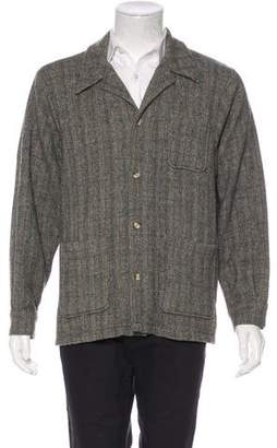 Woolrich Herringbone Wool Jacket