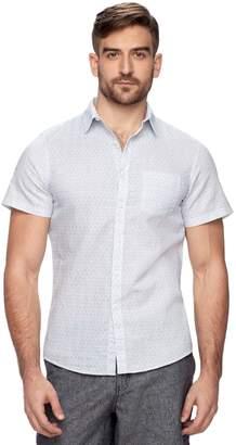 Marc Anthony Men's Slim-Fit Linen Button-Down Shirt