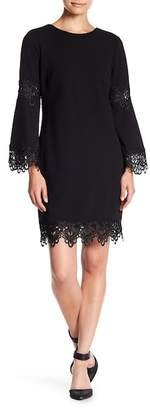 Emma Street Bell Sleeve Lace Dress