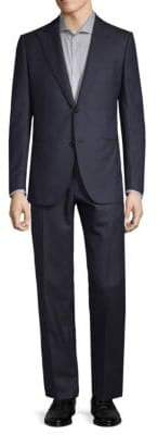 Caruso Peak Lapel Wool Suit