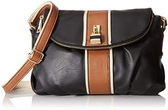 Del Mano Flap Cross Body with Lock Hardware Bag