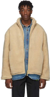 Han Kjobenhavn Beige Fleece Track Jacket