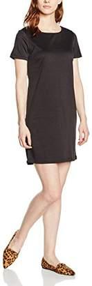 Vila Women's Tinny Striped Short Sleeve Dress,(Manufacturer Size:)