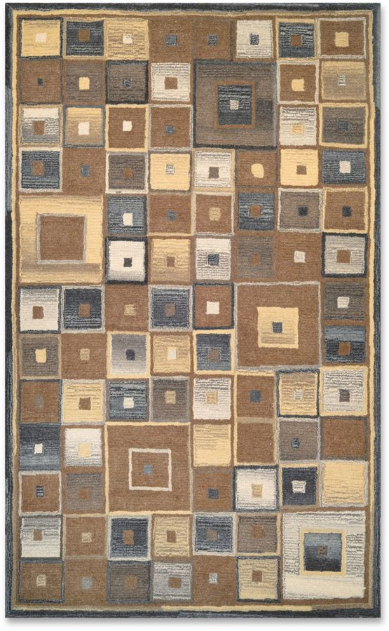 Couristan Couristan® Super Indo Naturals Abstract Rug in Brown